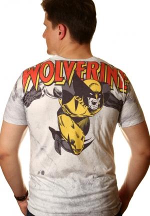 футболка hulk и wolverine