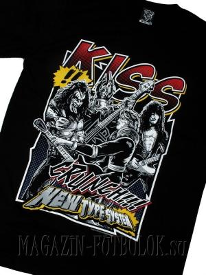 kiss футболка nts
