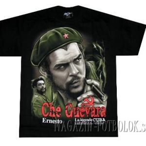 футболка че гевара с сигарой