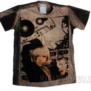 lady gaga футболка с фото знаменитостей