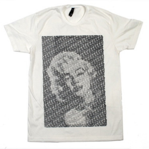marilyn monroe футболка знаменитости