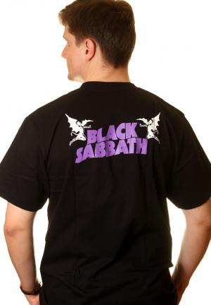 футболки блэк саббат master of reality