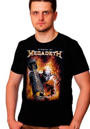 Футболка Megadeth Arsenal of Megadeth