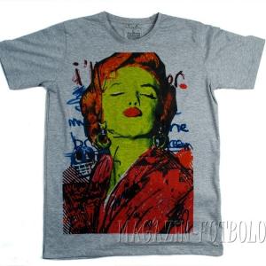 мерилин монро прикольная футболка с фото