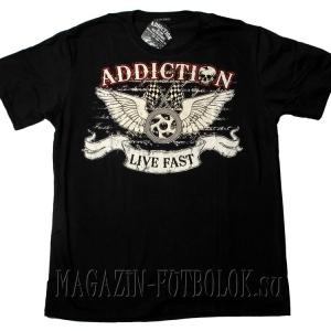 мужская футболка live fast