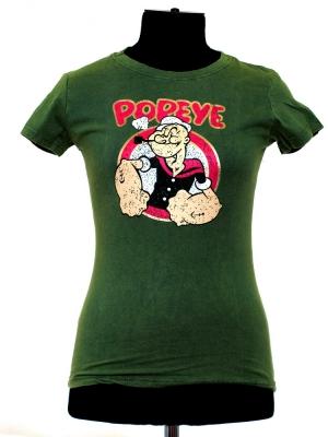 popeye футболка с мультяшным героем