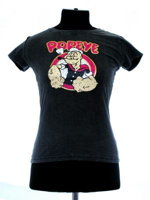 футболка popeye с модный принтом