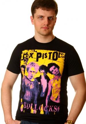sex pistols футболка never mind bolloks