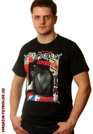 футболка sex pistols experience
