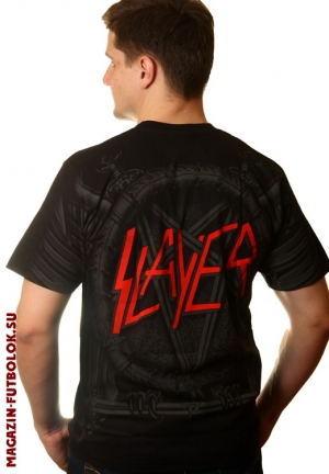 футболка slayer full print