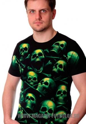 Футболка Skull Green full print