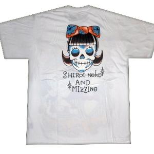 оригинальная футболка парочка скелетов