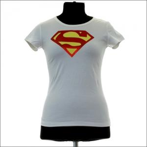 superman - женские футболки супергероев