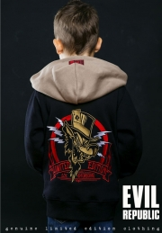 детская толстовка evil republic