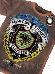2 eagle emblem классная мужская футболка