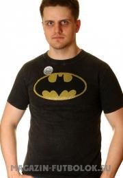 Футболка с логотипом супергероя Batman