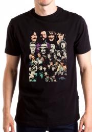 Футболка Beatles Many Portrets