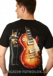 футболка с гитарой gibson les paul