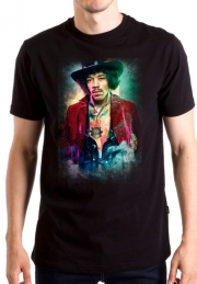 Футболка Jimi Hendrix color