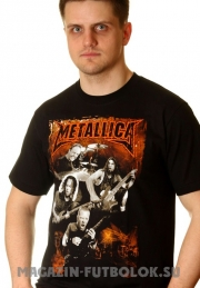 Футболка Metallica group