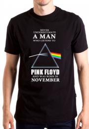 Футболка Pink Floyd Never Underestimate Man
