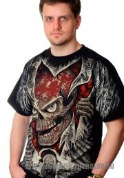 Купить футболку 3D Череп с глазами
