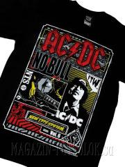ac/dc футболка no bull