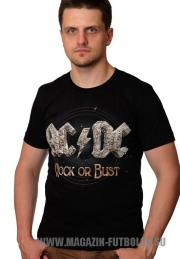 Футболка AC DC Rock or Bust