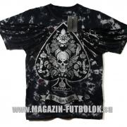 байкерская футболка get your luck - silver
