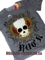 bartrock - футболка симпсонов