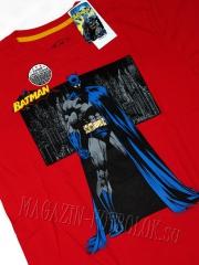 футболка с логотипом бэтмена - batman red