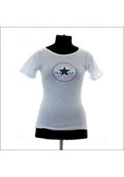 белая женская футболка convers