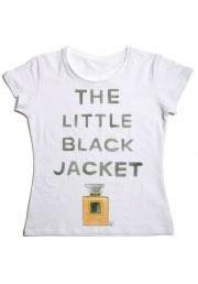black jacket футболка с оригинальной надписью