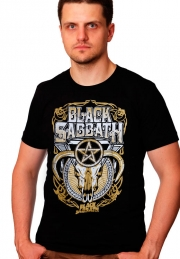 Футболка Black Sabbath Star