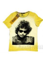 bob dylan футболка со знаменитостями