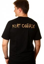 футболка курт кобейн