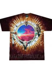 этническая футболка canyon sunset