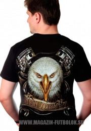 Байкерская футболка Freedom Road