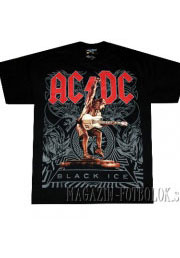 футболка ac dc black ice