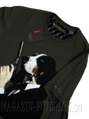 футболка ben sherman dog and gun