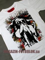 футболка боб марли - трафарет