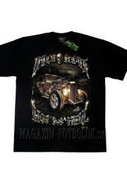 футболка для дальнобойщика hot as hell