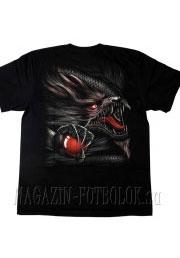 футболка дракон red wind