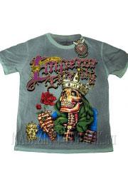 футболка emperor eternity skull-crown