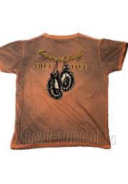 футболка fight club кирпичная