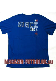 футболка с атрибутикой французской сборной