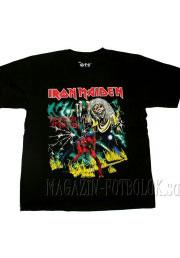 футболка iron maiden number of beast