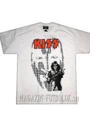 футболка kiss white