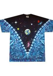 модная футболка с принтом космос