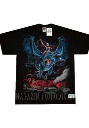 футболка с рисунком dragon rider